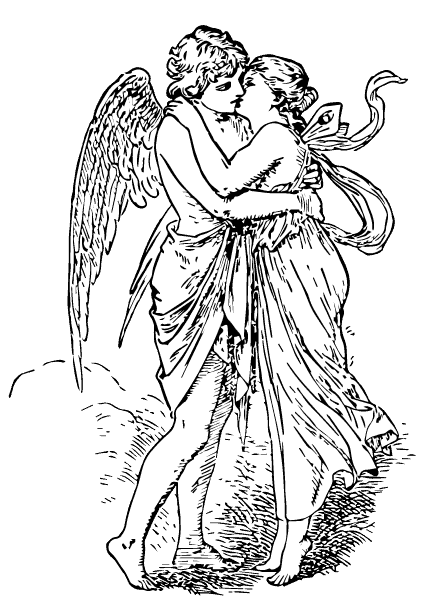 the characters of the myth cupid and psyche